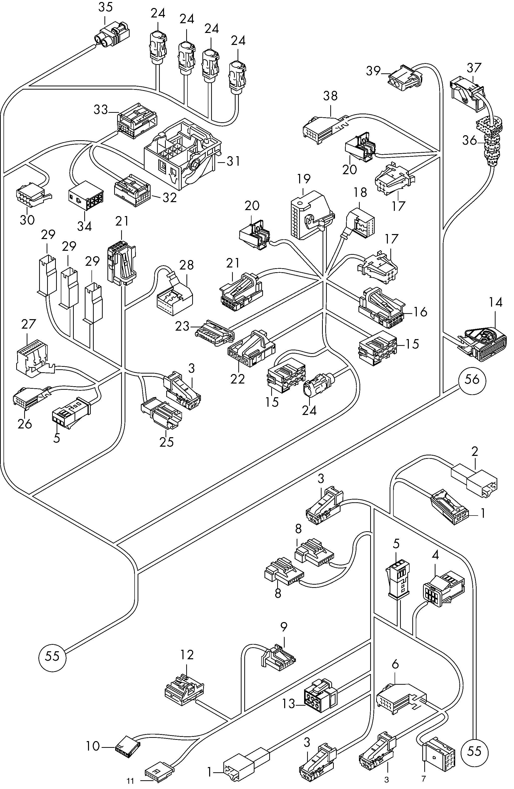 Wiring Diagram For Audi A4 Towbar  Diagram  Diagramtemplate  Diagramsample Check More At S