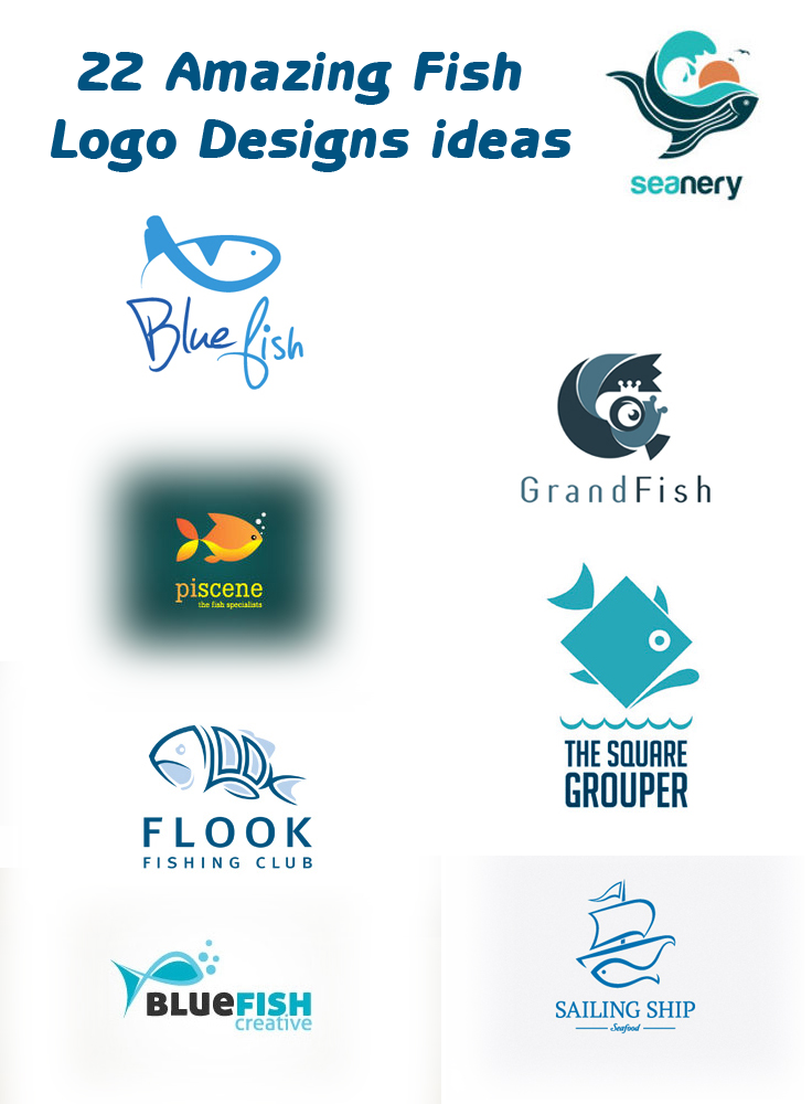 Looking For Free And Creative Fish Logo Designs To Download In Vector Check Out Our