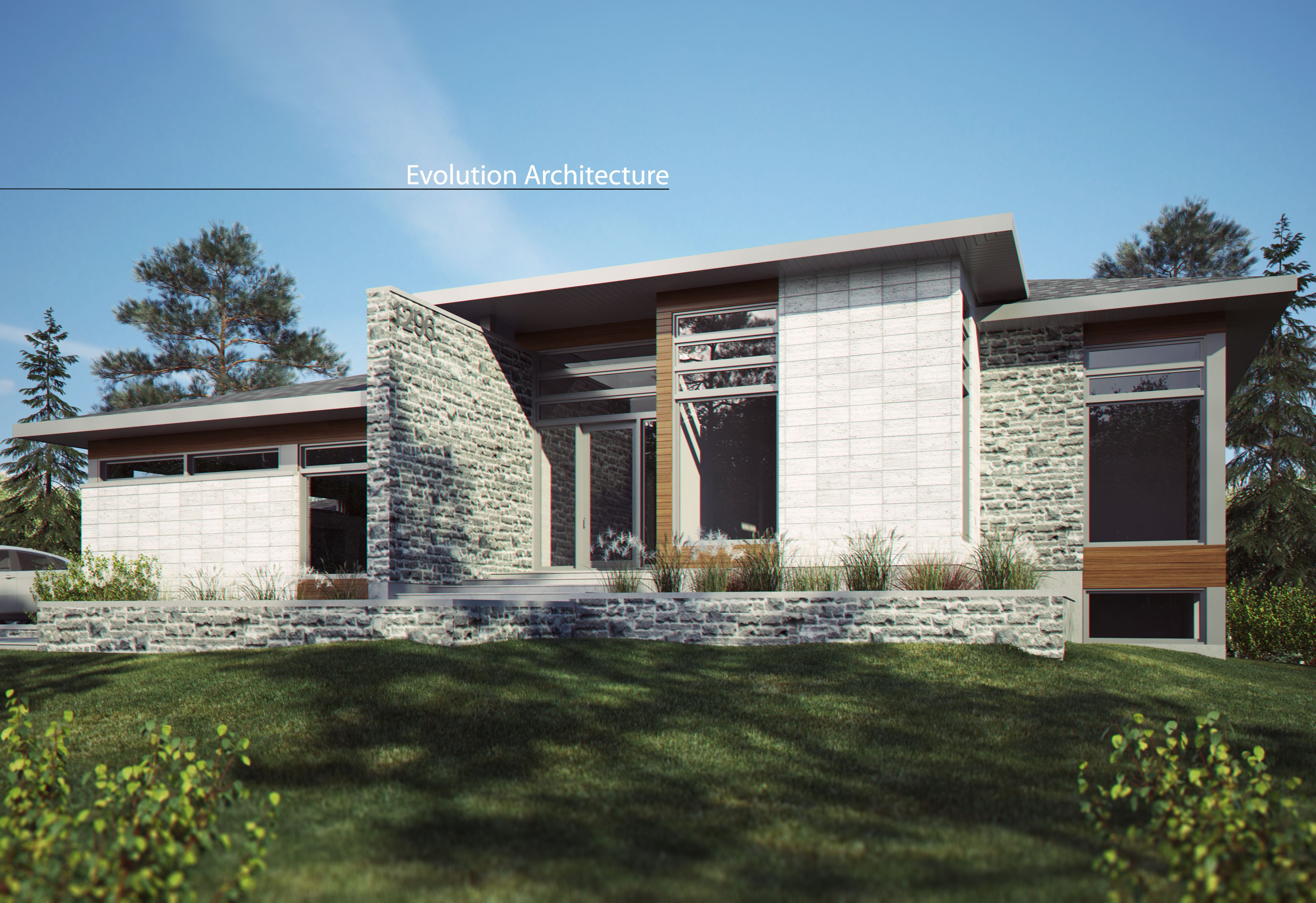 Evolution Architecture modern house exclusive creation E 926