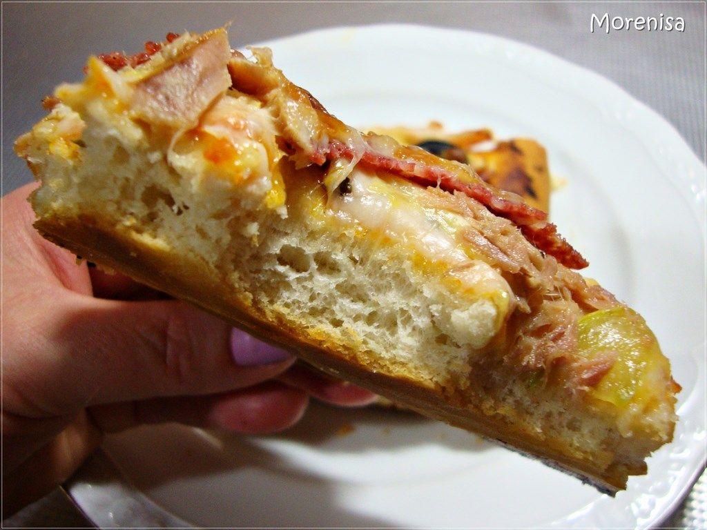Masa De Pizza Con Levadura Seca O Fresca Masa Para Pizza Masa Para Pizza Recetas Recetas Con Levadura