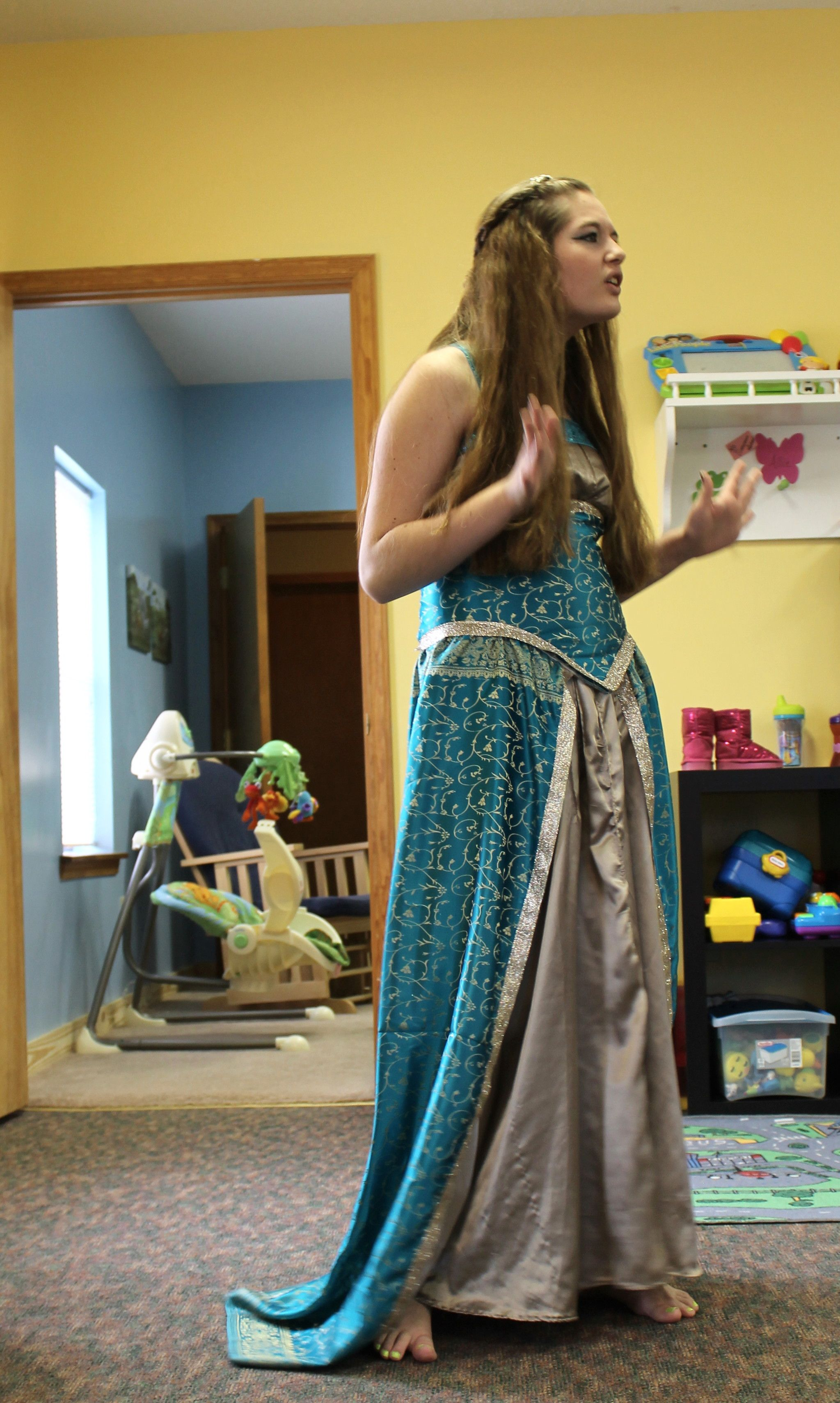 Emily's Queen Esther dress! Completely inspired by One ...