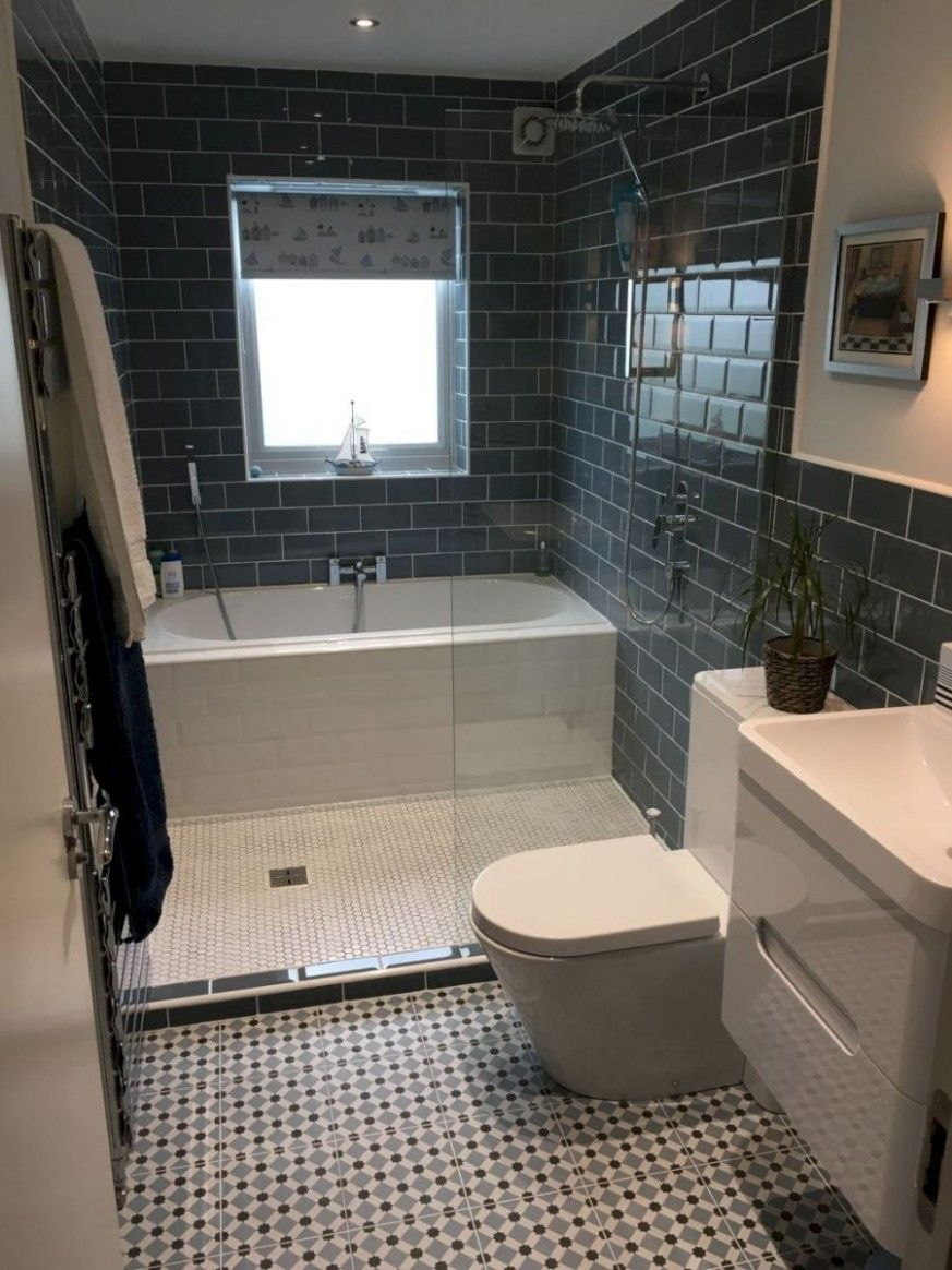 Small Bathroom Ideas With Separate Tub And Shower Small Bathroom Remodel Small Bathroom Bathroom Design Small