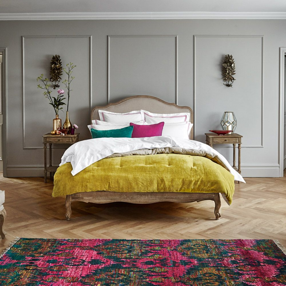 sienna bed king size feathers and bedrooms