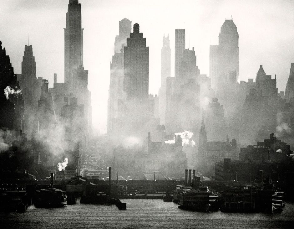 Andreas Feininger: 42nd Street View, 1942