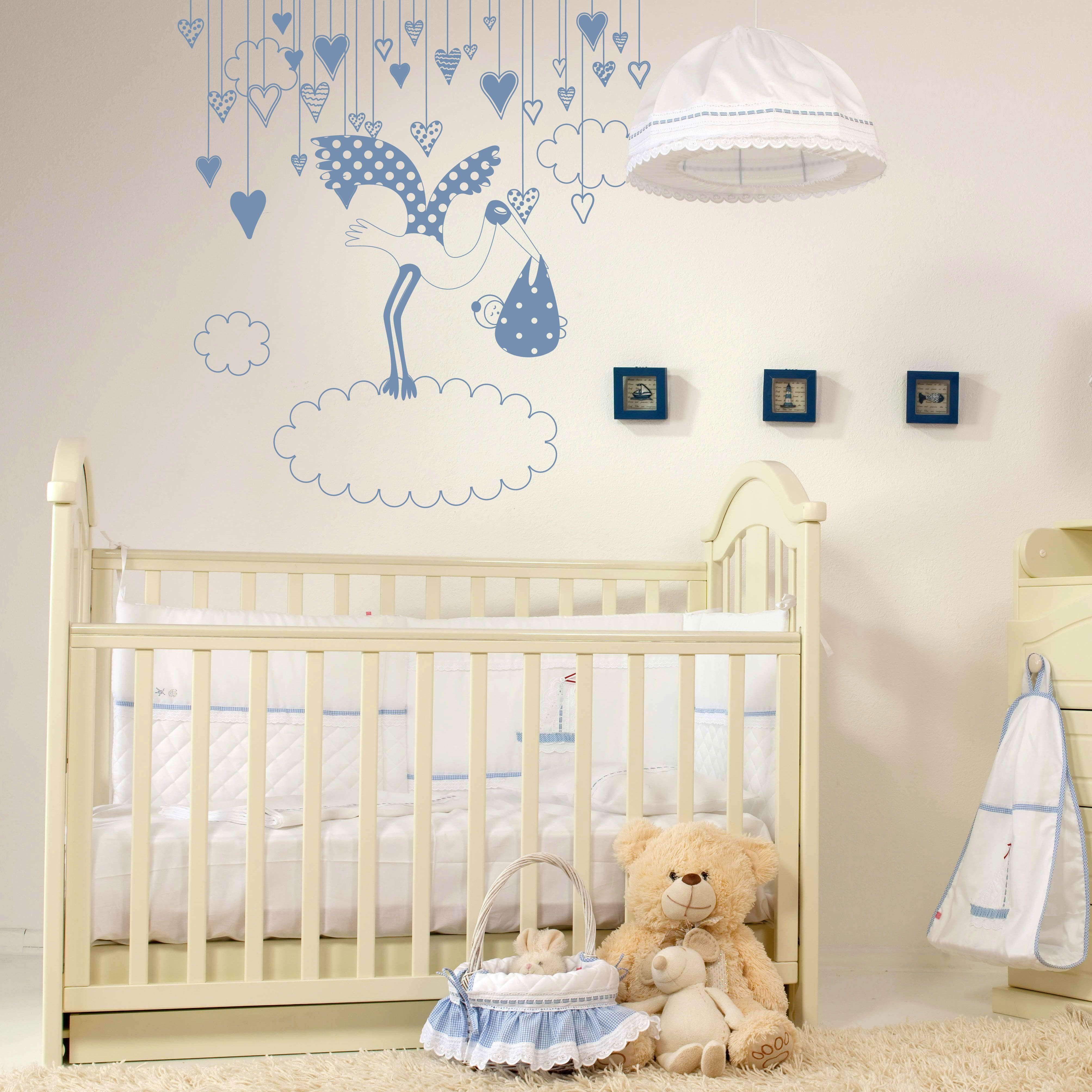 Vinilos infantiles para paredes descubre nuestros mejores for Vinilo habitacion infantil
