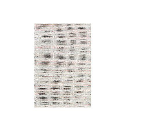 6 x 9 Tweed Inspired Multi Color Hand Woven Leather Reversible Area Throw Rug -- Click on the image for additional details.