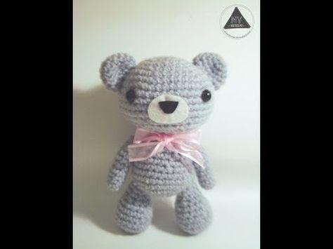 Amigurumi Tutorial Osito : Crochet bear video tutorial youtube