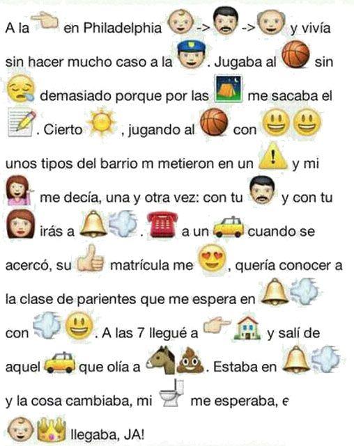 Cancion Popular Con Los Emoticonos Del Whatsapp Refranes Con Emoticonos Imagenes De Risa Emoticones De Whatsapp