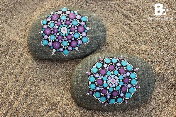 mandala steine galerie inspiration mandala steine steine und steine bemalen. Black Bedroom Furniture Sets. Home Design Ideas