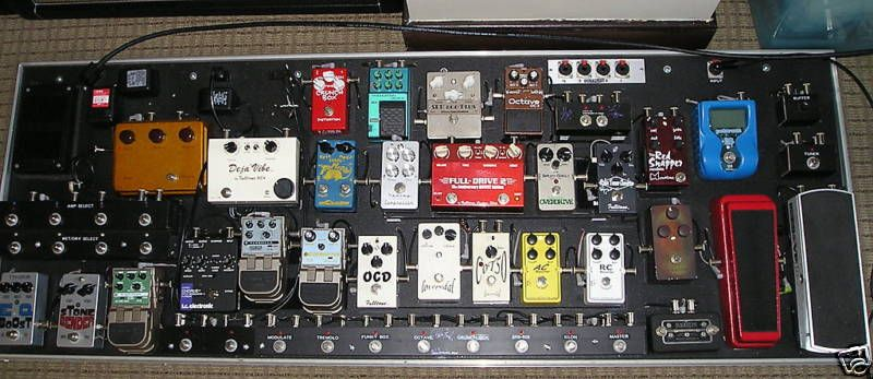This Is What My Pedalboard Will Look Like One Day Haha I