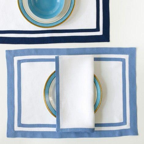 Rectangle Placemats Linen Placemats Placemats Luxury Linen