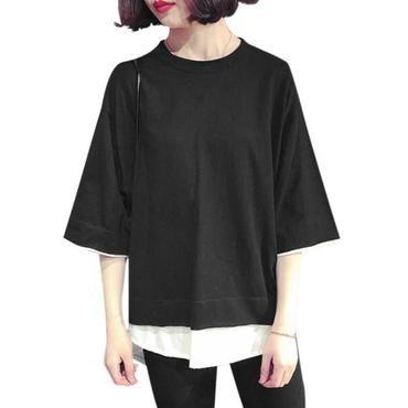 59b2331d Fashion Loose t shirt Women Korean Style T-shirt Tee Kawaii Fake 2eavengifts