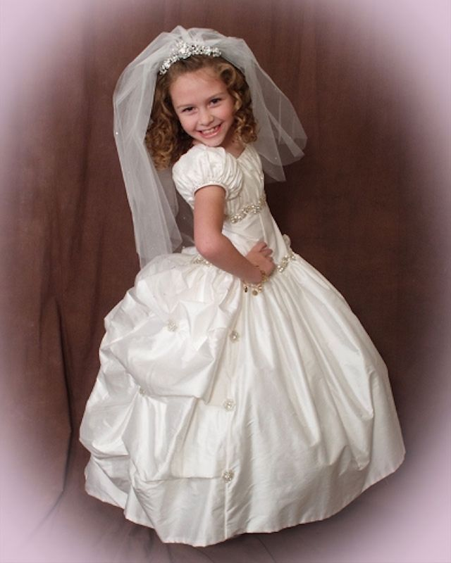 a few days away get new uk availability Christie Helene – High End Communion Dresses | Communion ...