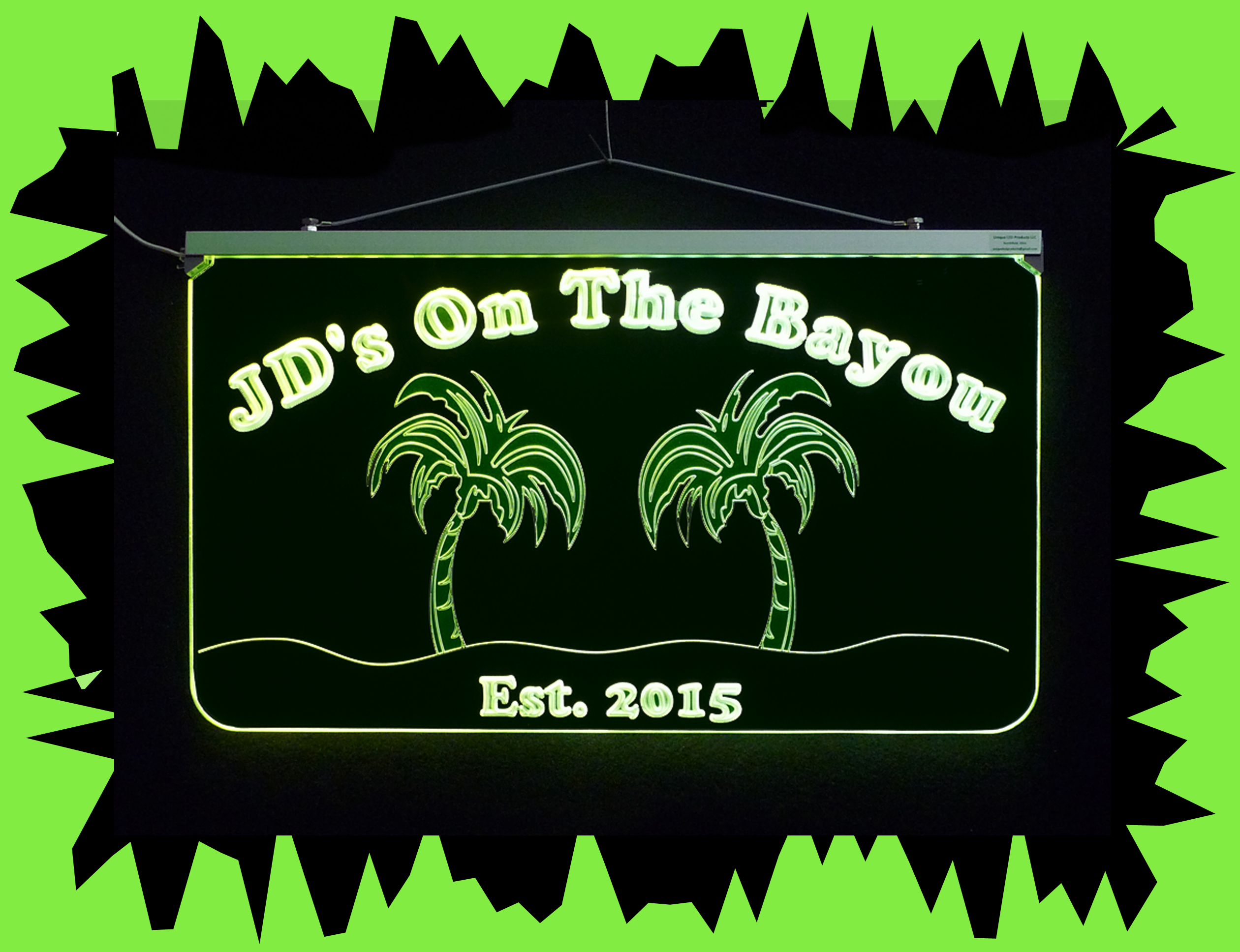 PersonalizedBarSign, #ManCave Sign, #PalmTrees Place to get