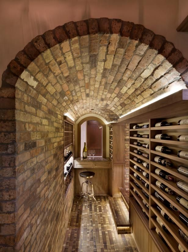 Unique Basement Wine Cellars