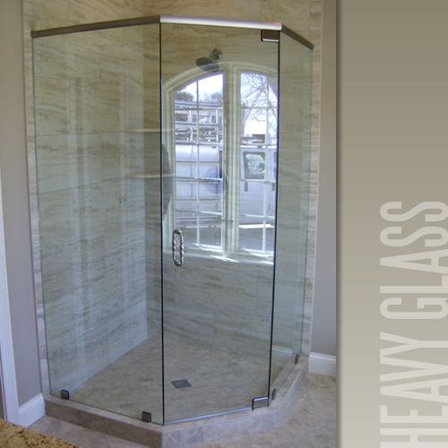 Love This Fun Shaped Master Shower Design Would You Go For Open Or Glass Door Loghome Master Bathroom Shower Master Shower Shower Design