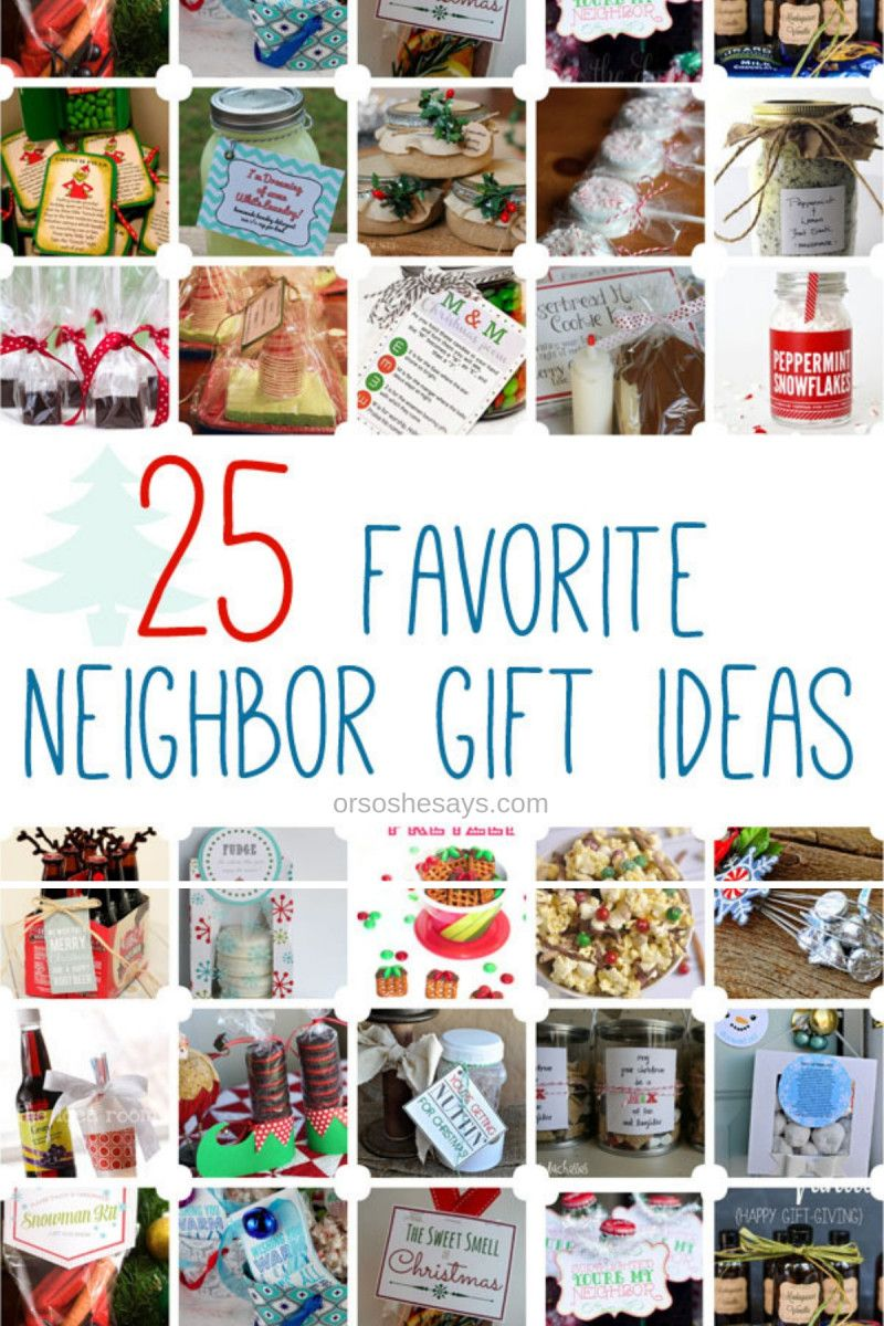 27 Cute Christmas Gift Ideas for Neighbors Neighbor