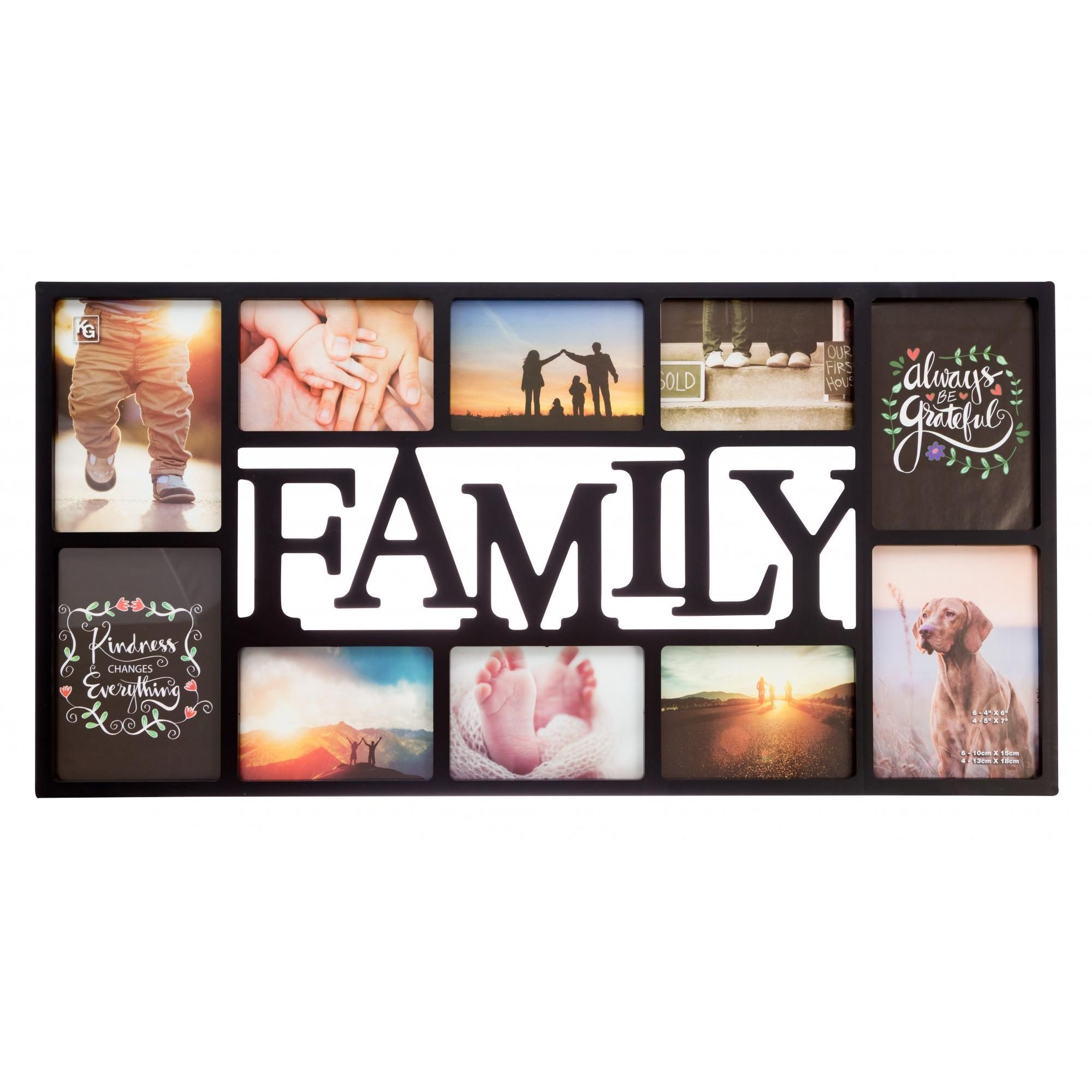 Az Trading Family Collage Frame Walmart Com Family Collage Frame Collage Frames Family Collage