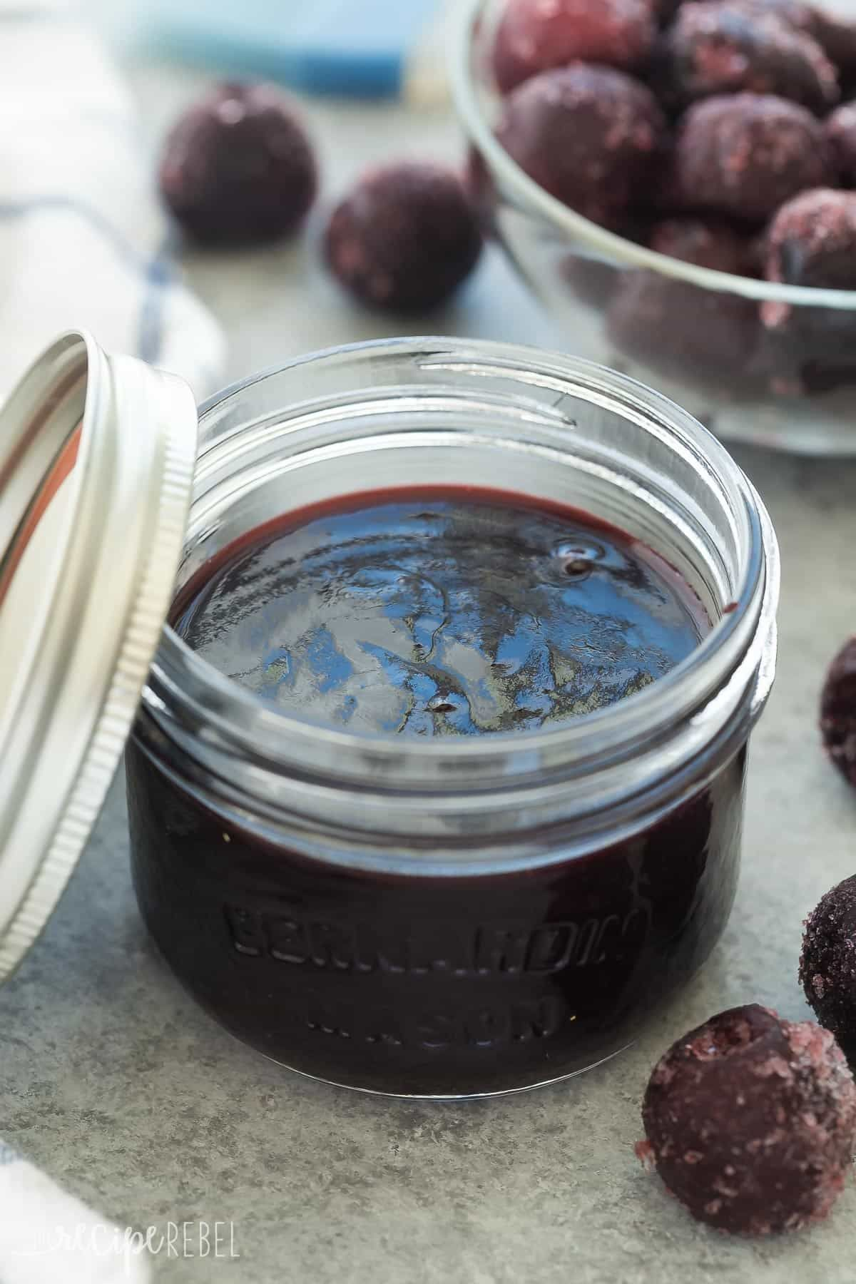 With RECIPE VIDEO This Easy Homemade Cherry BBQ Sauce is