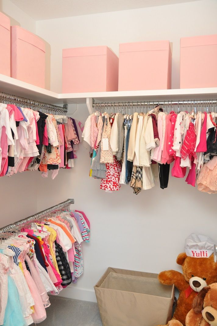 Kids Closet Idea Nursery Organization Organizing Wardrobe Kid