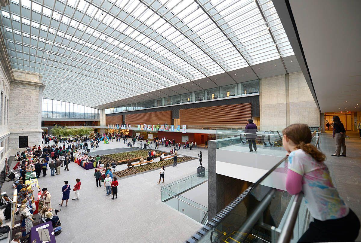 Cleveland Museum Of Art Rafael Violy Architects Atrium. Brad Feinknopf