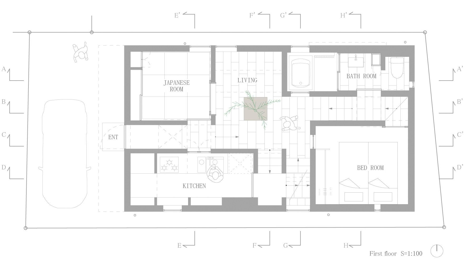 Lovely Residential Architectural Drawings