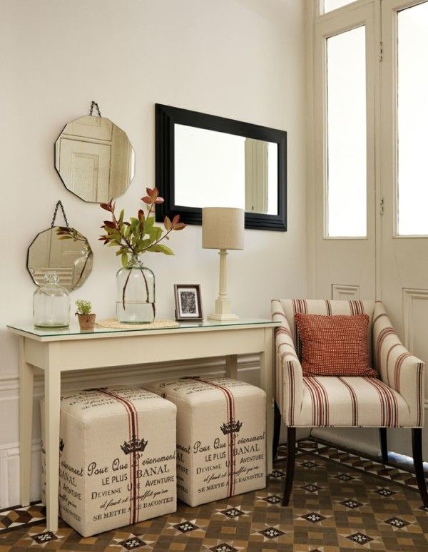 Small Console Tables For Hallway With Custom Tabletop Using