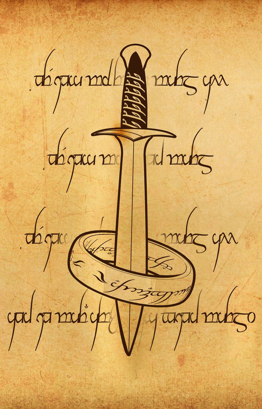 LOTR iphone wallpaper by PilgrimwandersdeviantART I