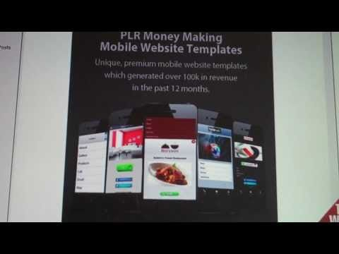 ▶ Mobile Website Templates PLR - YouTube