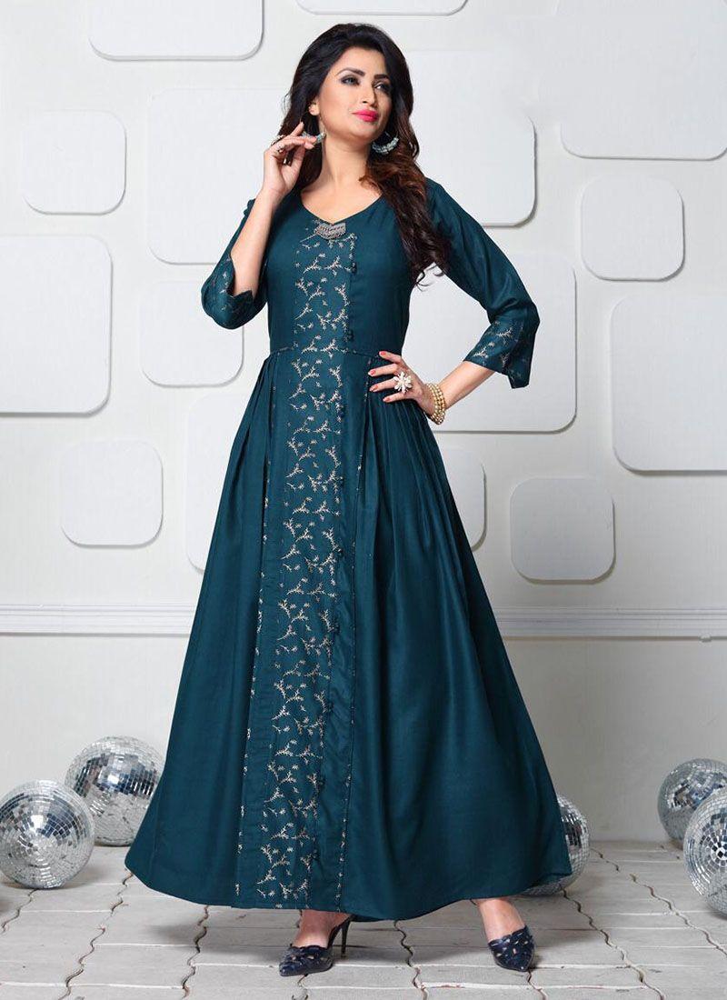 4615b70b957 Designer party wear evening gowns long ethnic gowns zipker com ...