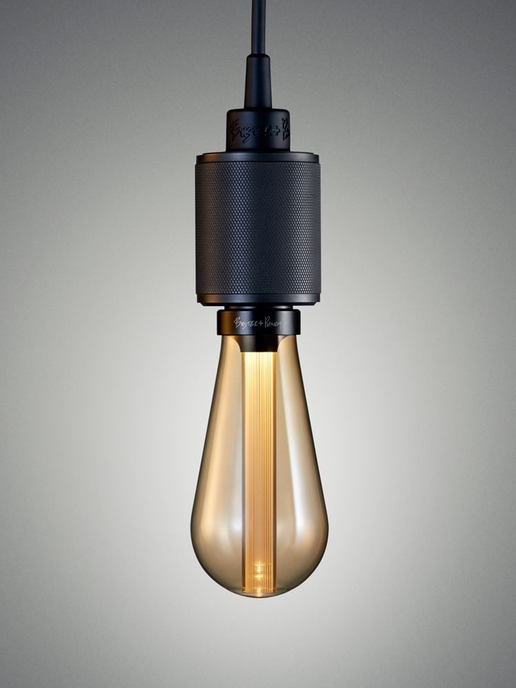 LED BUSTER BULB in GOLD glass by Buster Punch London