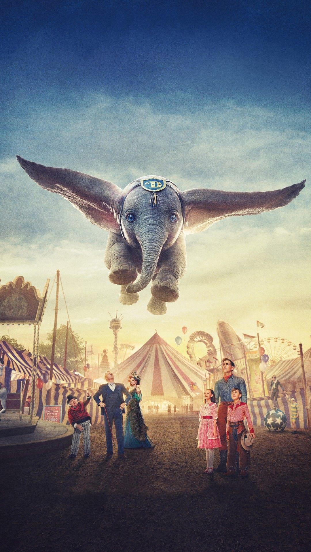Dumbo 2019 Poster Hd Best Movie Poster Wallpaper Hd Disney Dumbo Dumbo Movie Disney Wallpaper