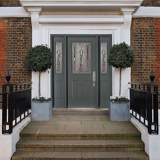 Regal Entries showcase symmetry. Door hardware entrance set by ...