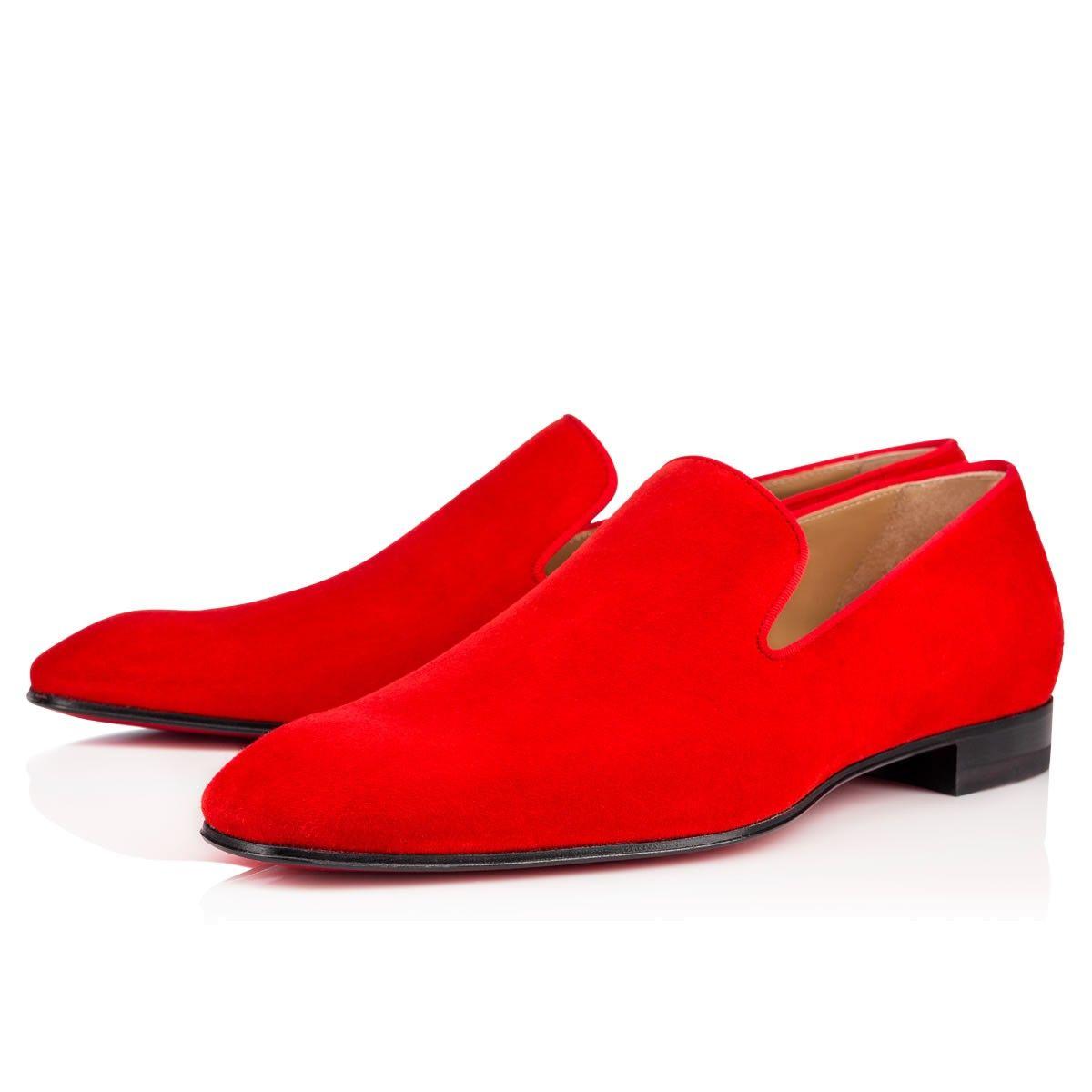 4c7ba5066d2 CHRISTIAN LOUBOUTIN Dandelion Spikes Flat Pavot Suede.  christianlouboutin   shoes