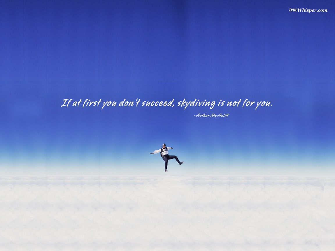 Funny Quotations Skydiving Wallpapers Resolution Filesize Kb Added On July Tagged Funny Quotations