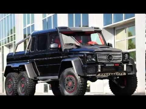 2014 Brabus Mercedes G 65 6x6 6 wheel truck IAA Frankfurt Motor