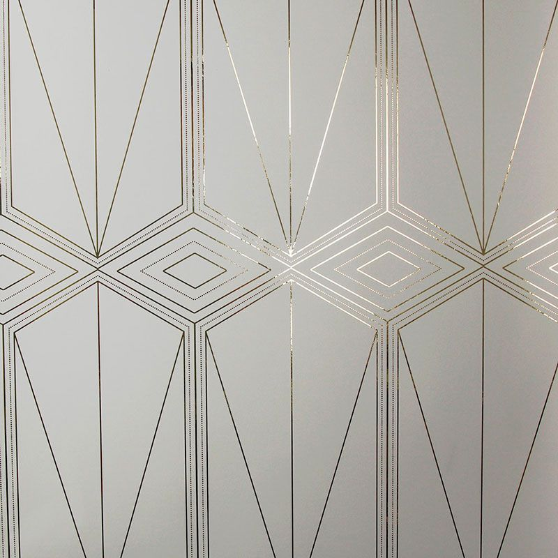 Deco Wallcovering In Rose Gold Walls 2019 Art