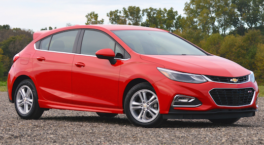 2019 Chevy Cruze Hatchback Release Date The hatchback is making a