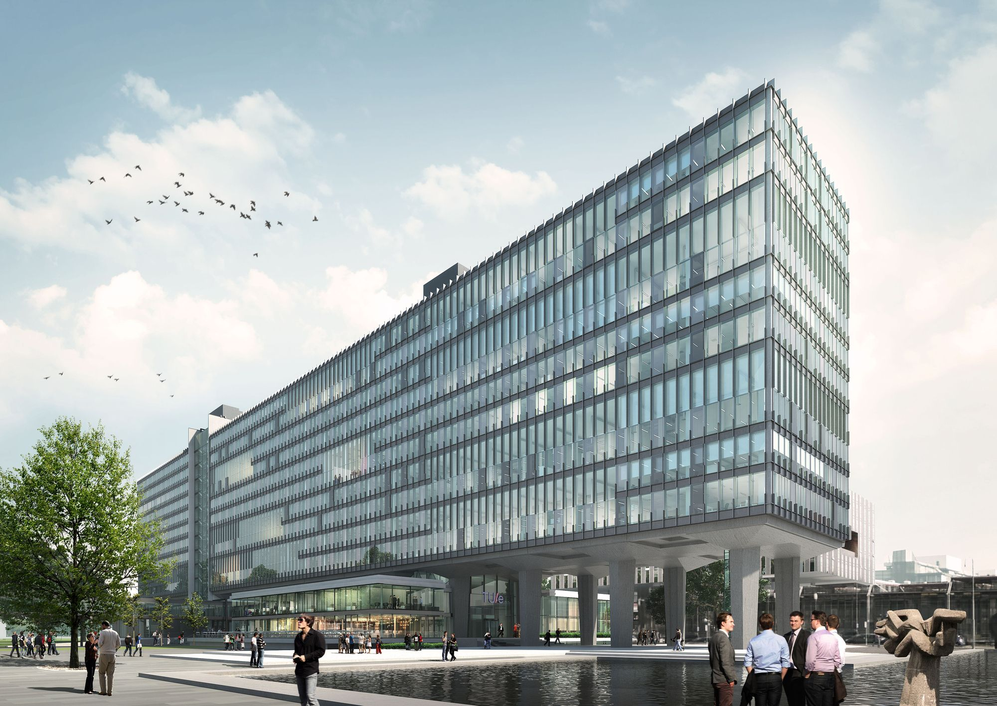 Eindhoven University of Technology Building to