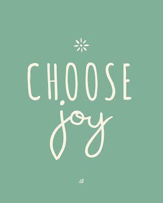 Choose Joy free printable blogherholidays
