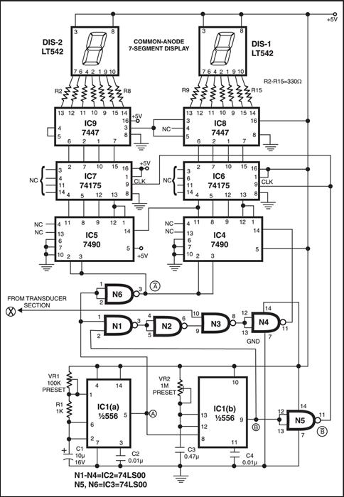 digital speedometer circuit schematic diagram wiring diagram 2 10
