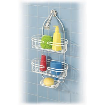 Better Bath Shower Caddy Vinyl Coated To Keep Away Rust