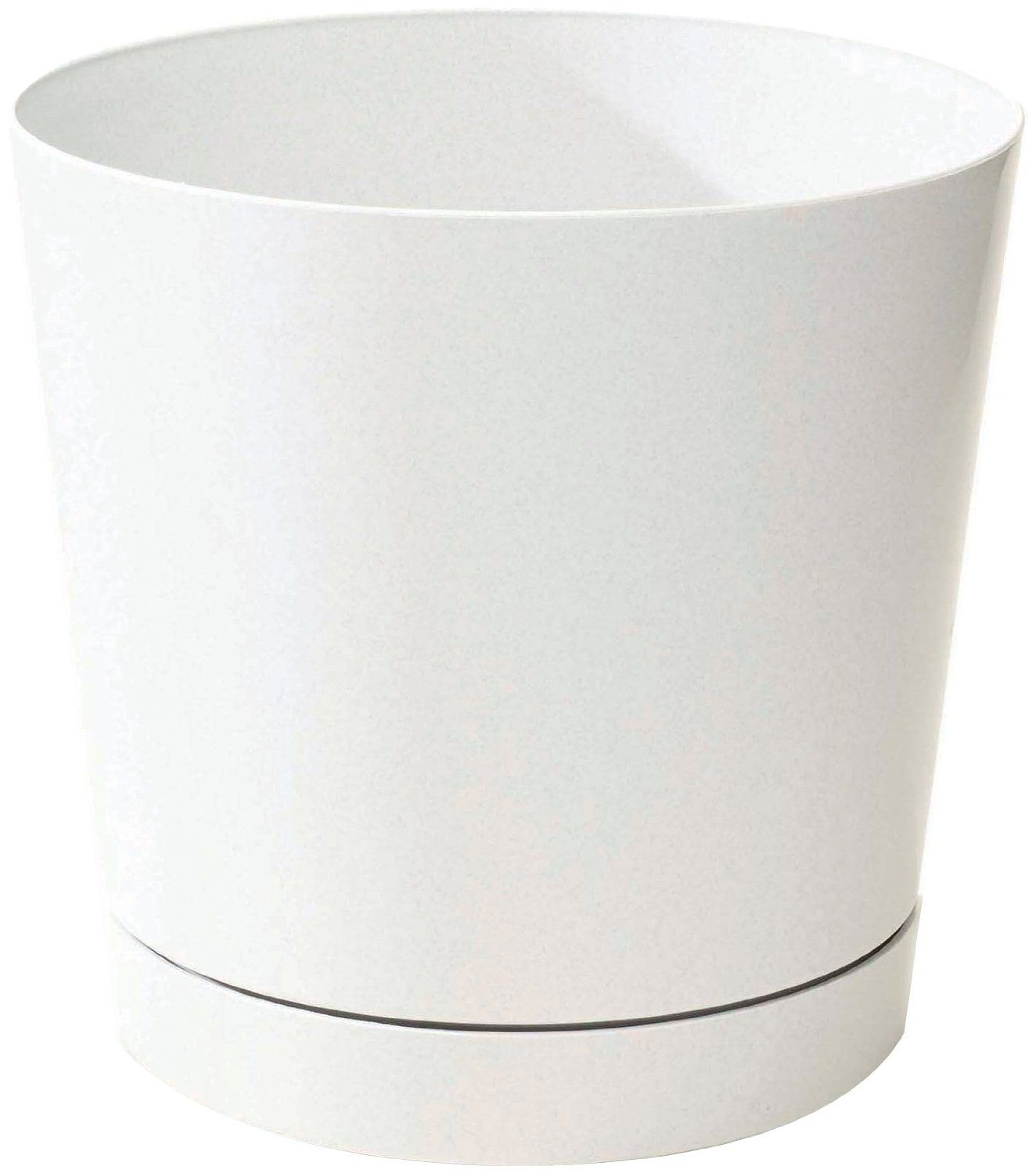 Amazon Com Novelty 10122 Full Depth Round Cylinder Pot White 12 Inch Patio Lawn Garden White Planters Outdoor Planter Designs Contemporary Planters