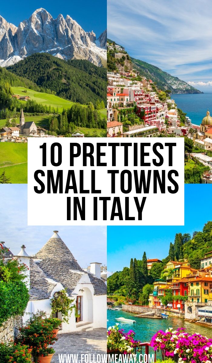 10 Prettiest Small Towns In Italy You Must See #beautyessentials