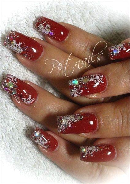 Diy Christmas Nail Designs