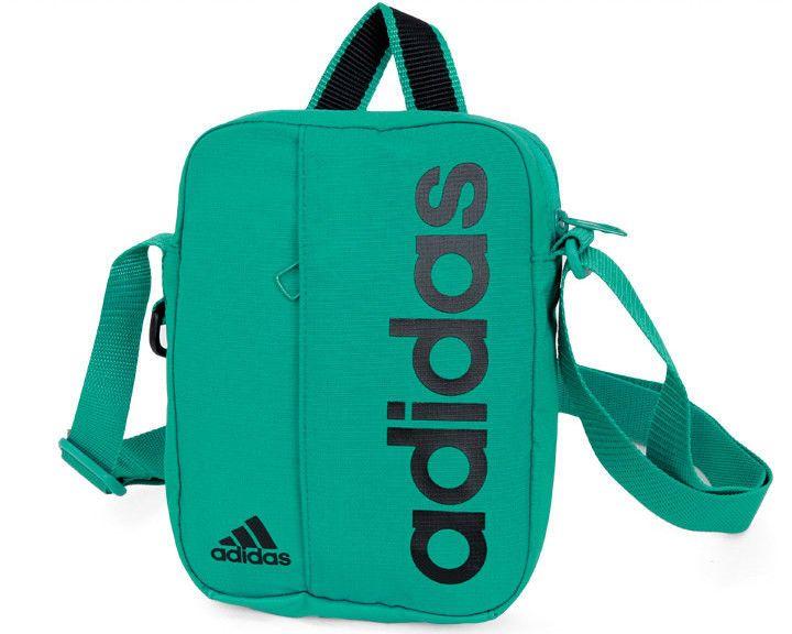 b4ae48a65c8b adidas 2018 Linear Performance Organizer Graphic Bag Belt Sports Green  AJ9945  adidas  MessengerShoulderBag