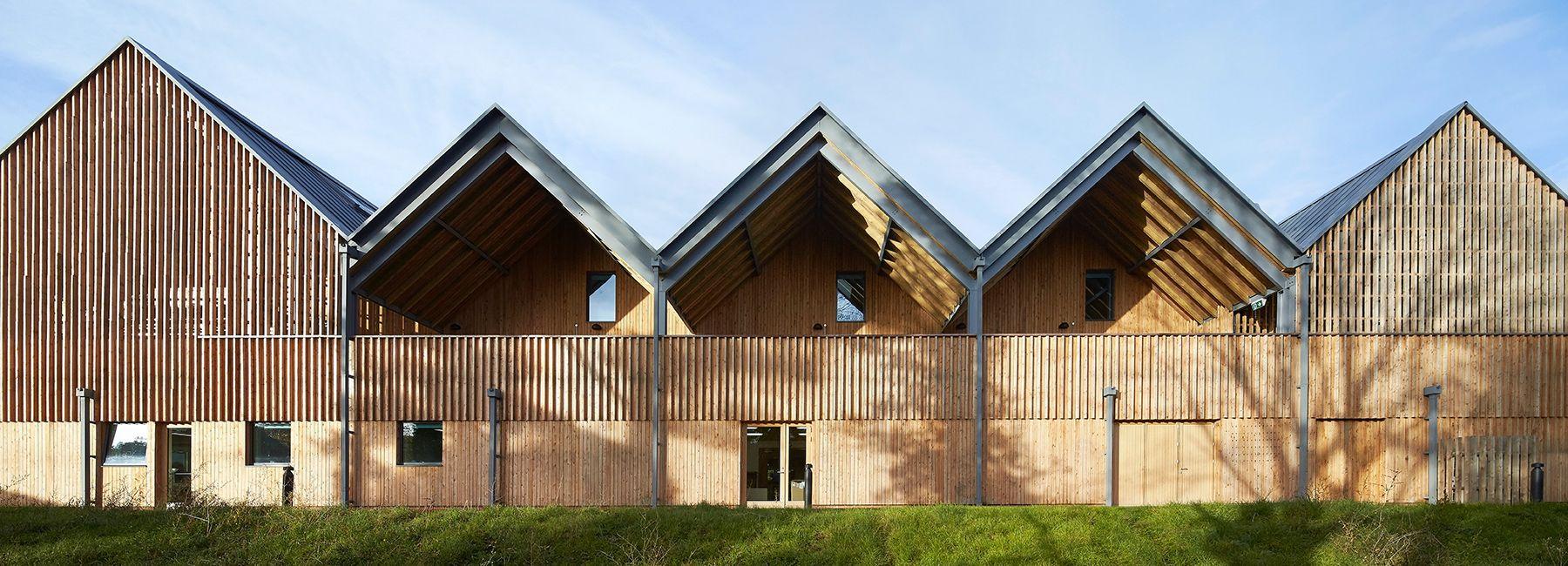 Feilden Clegg Bradley Creates Sunlit Studios For Art And Design School School Architecture Architecture Art School