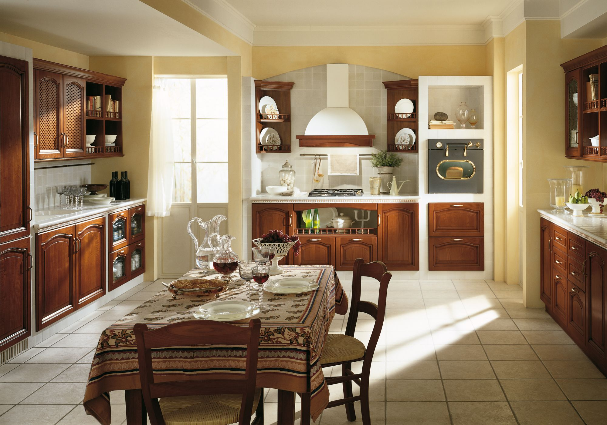 Margot by #Scavolini. Decorceramica is used for the larder unit, the ...