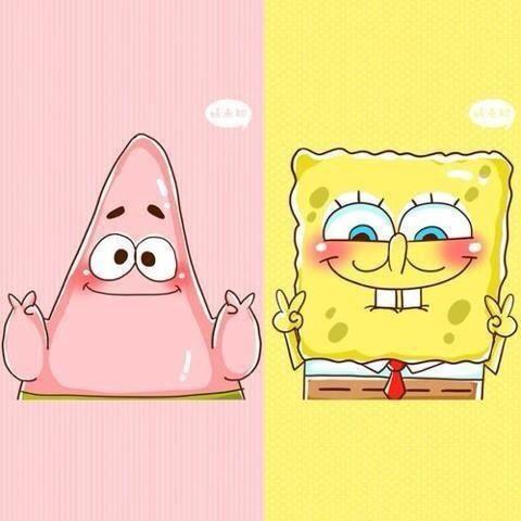 Wallpaper Spongebob Warna Pink