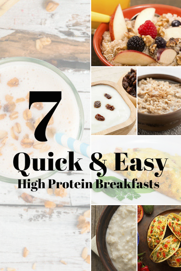 quick and easy high protein breakfast recipes
